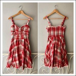 Macy's American Rag Gingham Picnic Dress